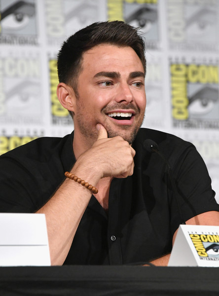 Image result for Jonathan Bennett at panel