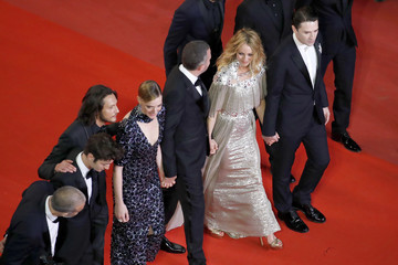 Jonathan Genet 'Knife + Heart (Un Couteau Dans Le Coeur)' Red Carpet Arrivals - The 71st Annual Cannes Film Festival