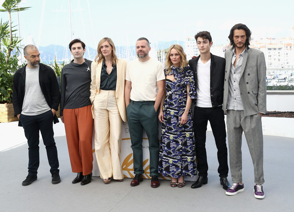 'Knife + Heart (Un Couteau Dans Le Coeur)' Photocall - The 71st Annual Cannes Film Festival