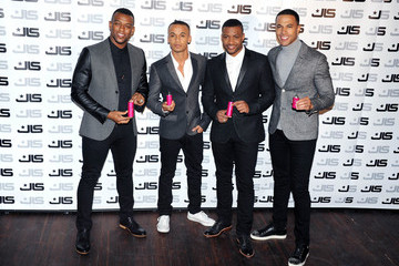 Jonathan Gill Marvin Humes JLS Launch Their New Female Fragrance 'LOVE'