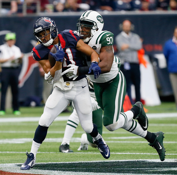2123f9f68 Jonathan Grimes Photos Photos - New York Jets v Houston Texans - Zimbio