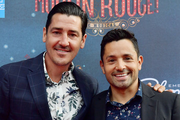 Jonathan Knight The Grand Re-Opening Of Boston's Emerson Colonial Theatre With 'Moulin Rouge! The Musical'