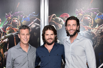 Jonathan Liebesman Andrew Form 'Teenage Mutant Ninja Turtles' Premieres in NYC