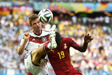 Jonathan Mensah Germany v Ghana: Group G - 2014 FIFA World Cup Brazil