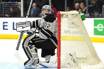 Jonathan Quick New York Rangers v Los Angeles Kings
