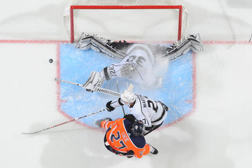 Jonathan Quick Alec Martinez Los Angeles Kings v Edmonton Oilers