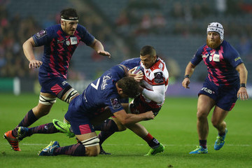 Jonathan Ross Gloucester Rugby v Stade Francais Paris - European Rugby Challenge Cup Final