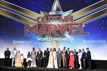 Jonathan Schwartz Kevin Feige Los Angeles World Premiere Of Marvel Studios' 'Captain Marvel'