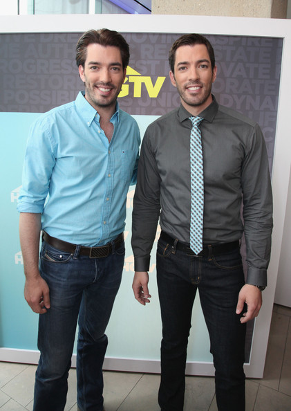 Drew Scott and Jonathan Scott - Scripps Networks Upfront Event in NYC