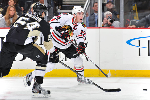 Jonathan Toews - Chicago Blackhawks v Pittsburgh Penguins