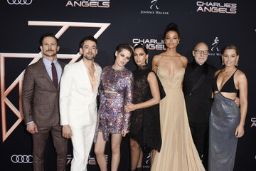 Jonathan Tucker Audi Arrives At The World Premiere Of 'Charlie's Angels'