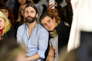 Jonathan Van Ness Marcel Ostertag - Front Row - February 2018 - New York Fashion Week: The Shows