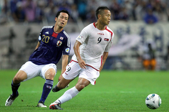 Japan v North Korea - 2014 FIFA World Cup Asian Qualifier []
