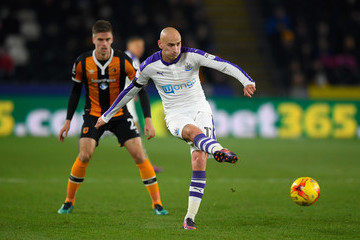 Jonjo Shelvey Hull City v Newcastle United - EFL Cup Quarter-Final