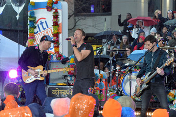 Jonny Buckland Will Champion Coldplay Performs on NBC's 'Today'