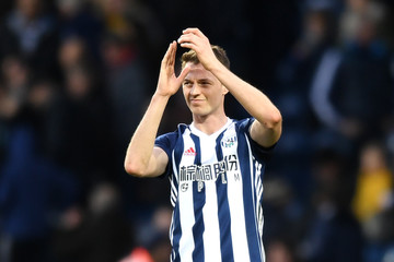 Jonny Evans West Bromwich Albion v Southampton - The Emirates FA Cup Fifth Round