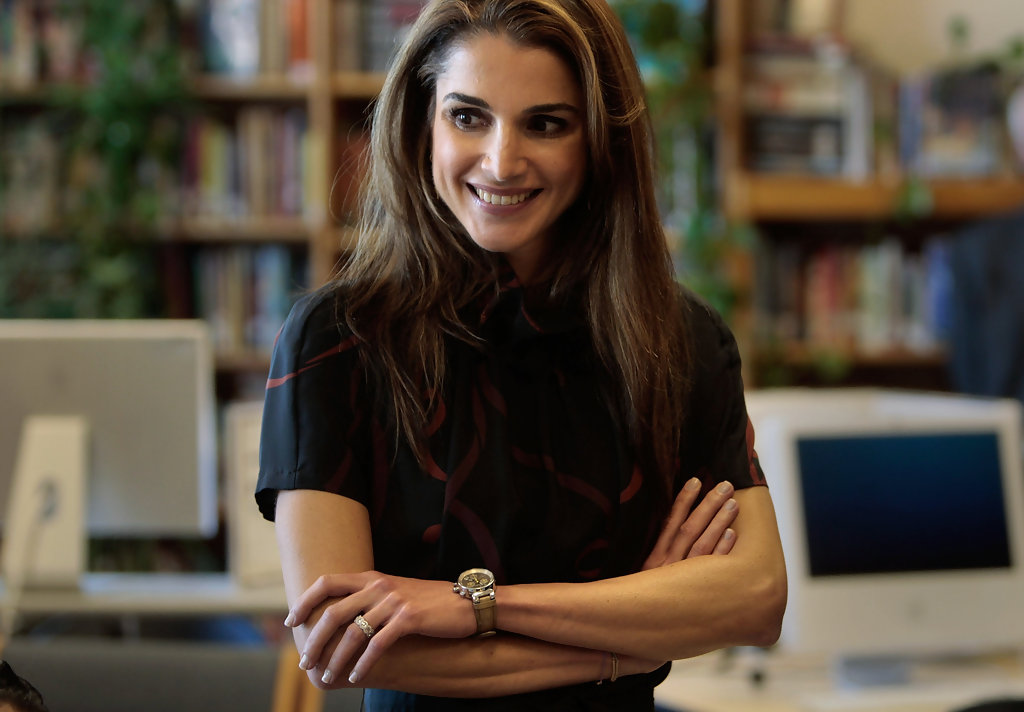 Queen Rania of Jordan bio