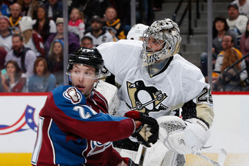 Jordan Caron Pittsburgh Penguins v Colorado Avalanche
