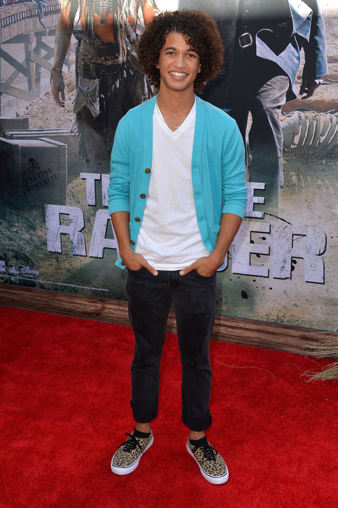 "Jordan Fisher - Premiere Of Walt Disney Pictures' ""The Lone Ranger"" - Arrivals"
