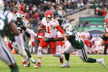 Jordan Jenkins Kansas City Chiefs v New York Jets