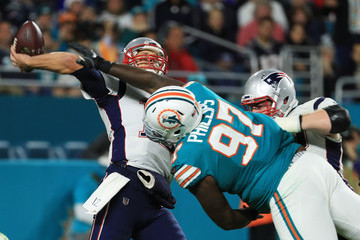 Jordan Phillips New England Patriots v Miami Dolphins