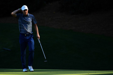 Jordan Spieth The Masters - Round Two