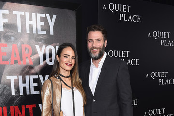 Jordana Brewster Andrew Form Paramount Pictures presents the New York Premiere of 'A QUIET PLACE'