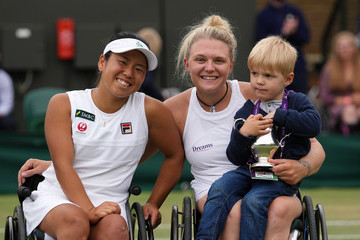 Jordanne Whiley Day Twelve: The Championships - Wimbledon 2021