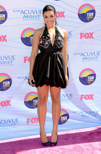 Jordin Sparks Singer Jordin Sparks arrives at the 2012 Teen Choice Awards at Gibson Amphitheatre on July 22, 2012 in Universal City, California.