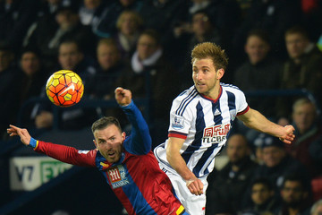 Jordon Mutch West Bromwich Albion v Crystal Palace - Premier League