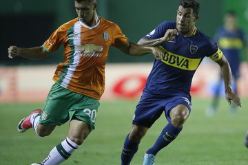 Jorge Rodriguez Banfield v Boca Juniors - Superliga 2017/18