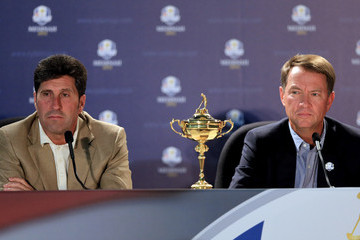 José María Olazábal Ryder Cup - Preview Day 1
