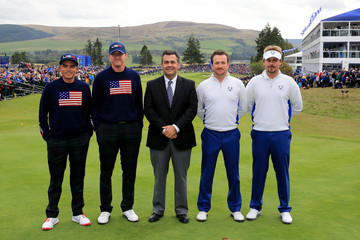 Jose Maria Zamora Afternoon Foursomes - 2014 Ryder Cup