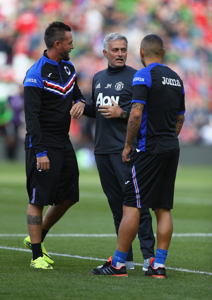 Manchester United v Sampdoria - International Champions Cup