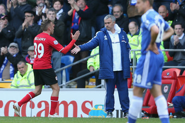 Jose Mourinho Cardiff City v Chelsea - Premier League