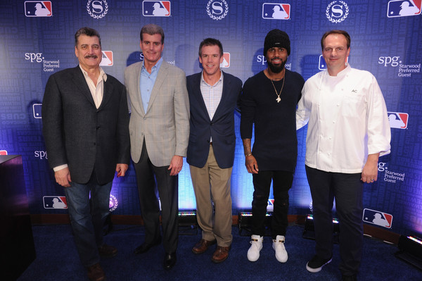 Starwood Hotels & Resorts, Sheraton and SPG Launch MLB Partnership With NYC Postseason Viewing Party [event,premiere,team,performance,bob jacobs,keith hernandez,jose reyes,dave marr,andrew carmellini,launch,sheraton,spg launch mlb partnership with nyc postseason viewing party,starwood hotels resorts,mlb]