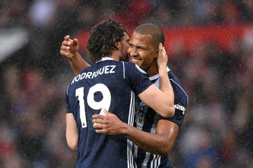 Jose Salomon Rondon Manchester United vs. West Bromwich Albion - Premier League