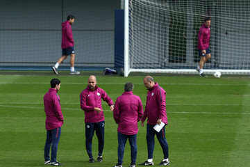 Josep Guardiola Manchester City Training and Press Conference
