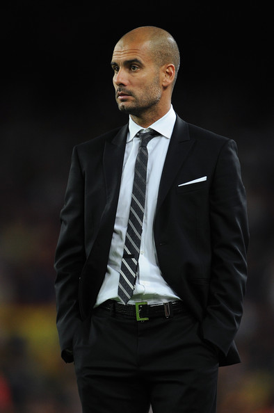 Josep Guardiola Head coach Josep Guardiola of Barcelona watches on during the UEFA Champions League group D match between Barcelona and Panathinaikos on September 14, 2010 in Barcelona, Spain. Barcelona won the match 5-1.