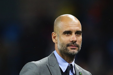 Josep Guardiola Manchester City v West Bromwich Albion - Premier League