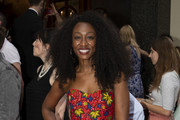 Beverley Knight attends the Press Night of 'Joseph And The Amazing Technicolor Dreamcoat' at London Palladium on July 11, 2019 in London, England.