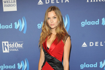 Josephine Skriver Ketel One Vodka Hosts The VIP Red Carpet Suite At The 26th Annual GLAAD Media Awards In New York