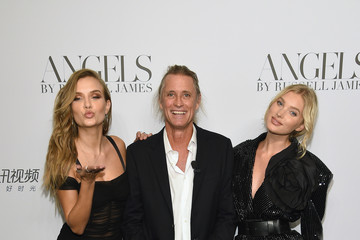 Josephine Skriver Elsa Hosk Cindy Crawford And Candice Swanepoel Host 'ANGELS' By Russell James Book Launch And Exhibit - Arrivals