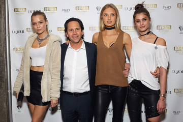 Josephine Skriver Taylor Hill DuJour's Jason Binn Hosts the Launch of Behati X Juicy Couture at PHD at Dream Downtown
