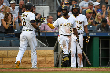 Josh Bell Chicago Cubs v Pittsburgh Pirates