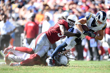 Josh Bynes Arizona Cardinals vs. Los Angeles Rams