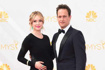 Josh Charles Sophie Flack Arrivals at the 66th Annual Primetime Emmy Awards — Part 2