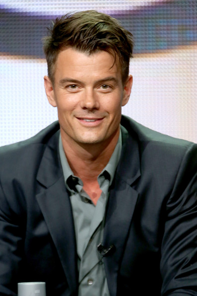 Josh Duhamel Actor Josh Duhamel speaks onstage at the