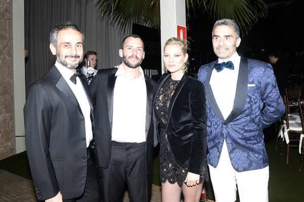2016 amfAR Inspiration Gala Sao Paulo [event,suit,fashion,formal wear,tuxedo,ara vartanian,felipe diniz,josh,kate moss,sao paulo,brazil,amfar inspiration gala]
