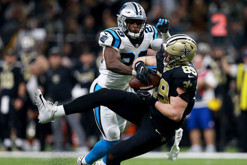 Josh Hill Wild Card Round - Carolina Panthers v New Orleans Saints